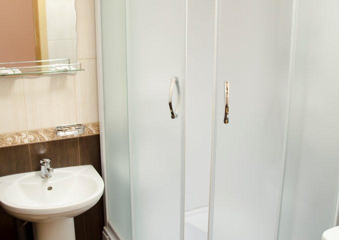 Ванная комната в стандартном dbl