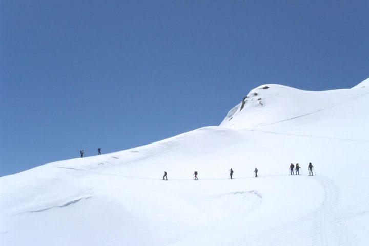 ски-тур на ледник Азау