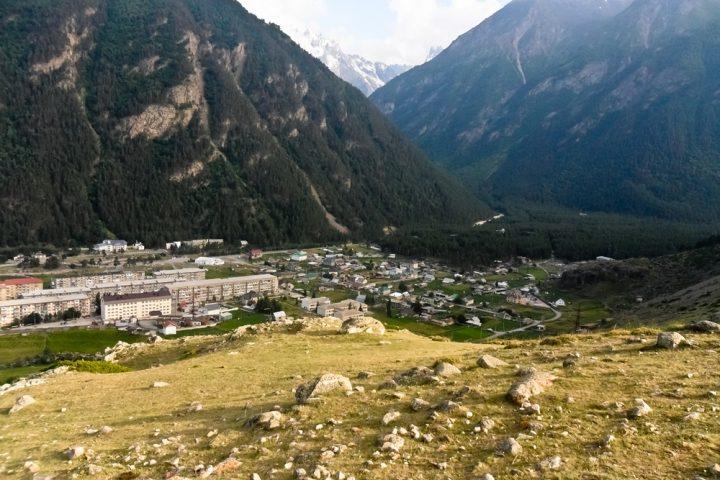 Поселок Эльбрус