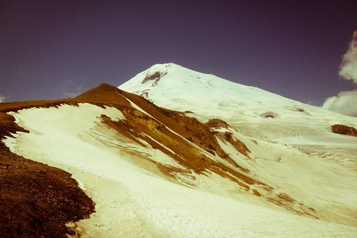 Эльбрус с перевала