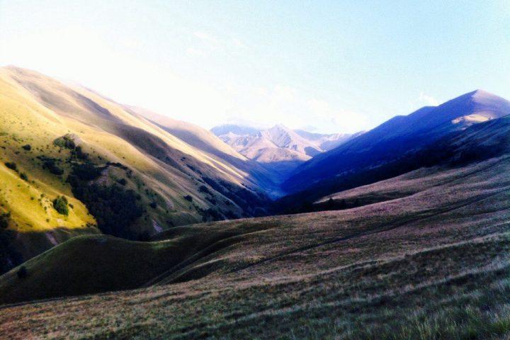 Вид вверх по долине Шаукама