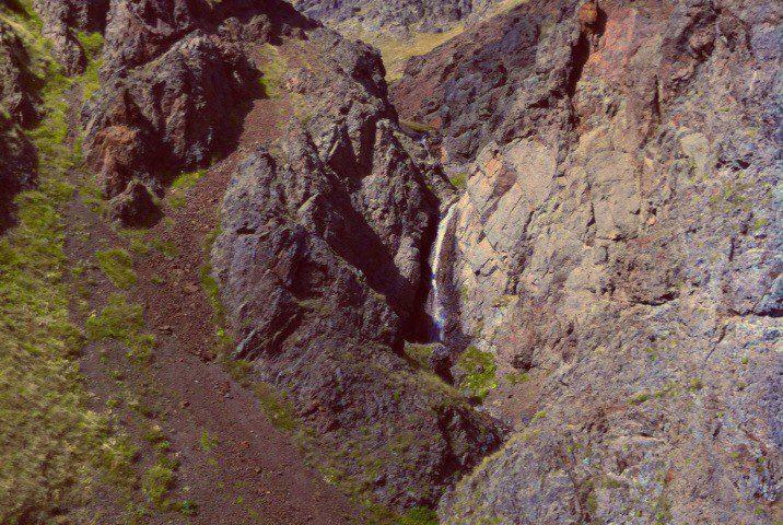 Водопад притока Кызылкола