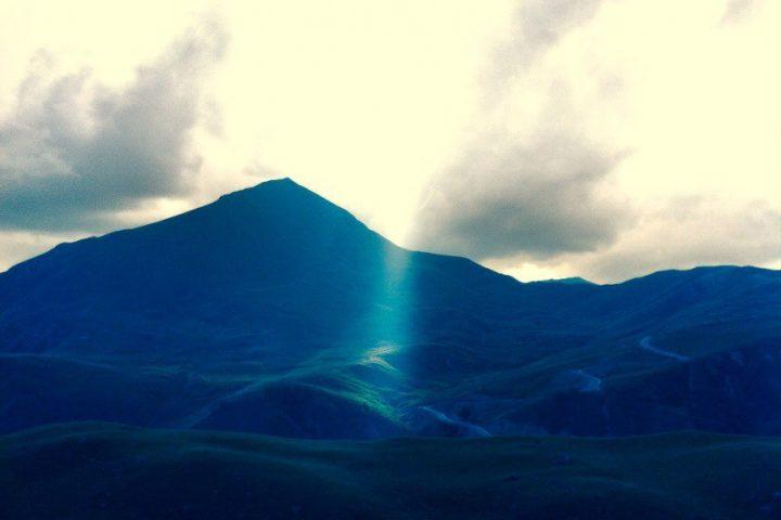 Гора Сирх по дороге в долину