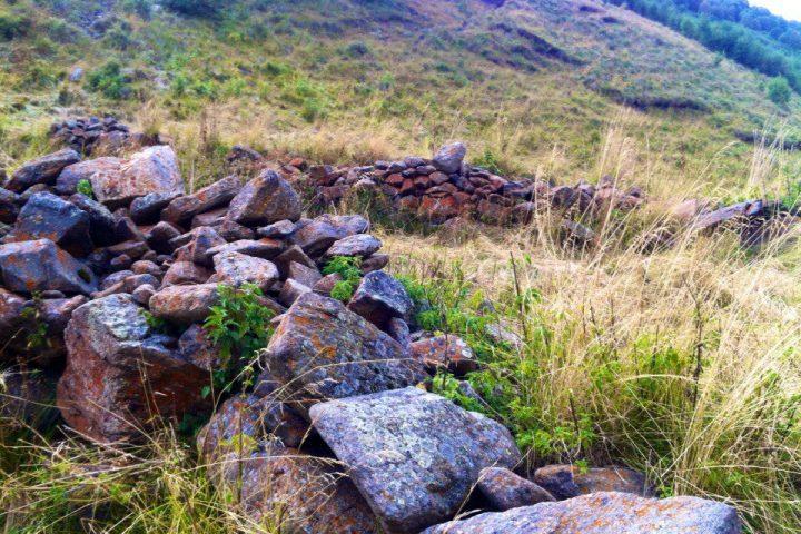 Долина Шаукама Развалины