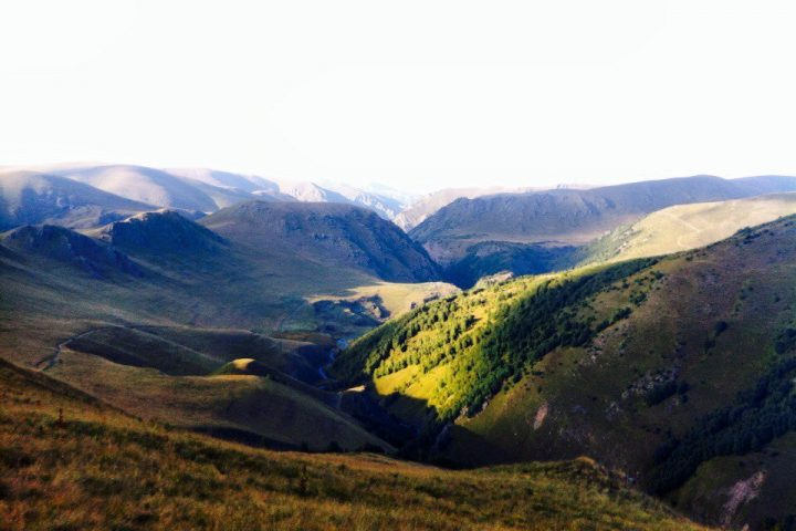Долина Шаукама на закате