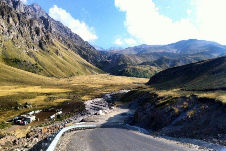 Дорога в Джилы-су