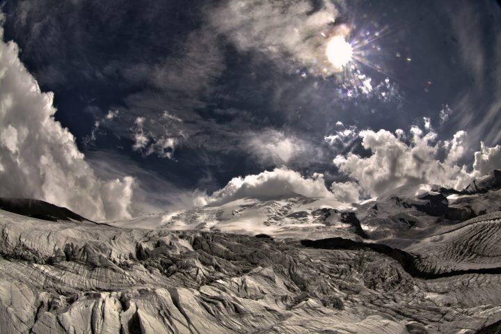 Эльбрус с Северо-Запада 1