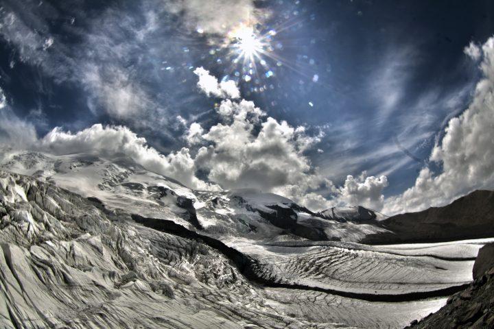 Эльбрус с Северо-Запада 2
