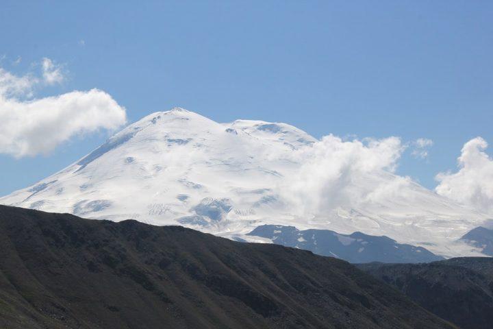 Эльбрус с перевала Исламчат