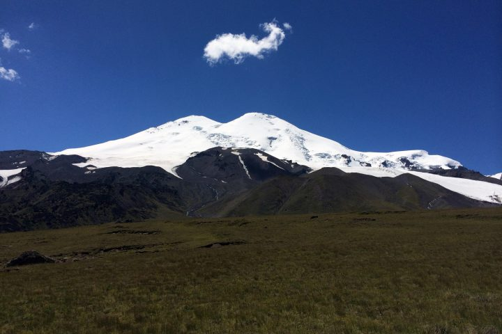 Эльбрус с плато Ирахиксырт