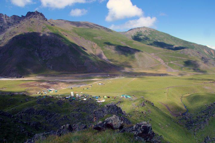 Базовый лагерь 2600 м.