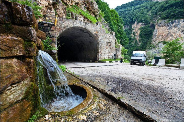 Верхняя Балкария. Туннель