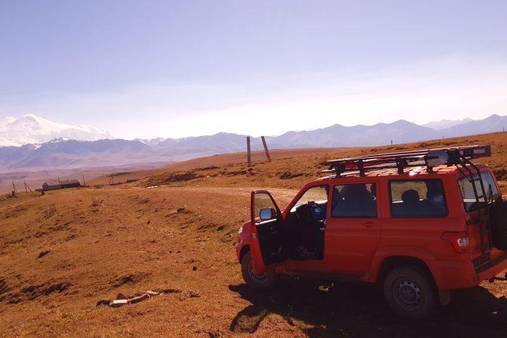 Путь На плато Канжал