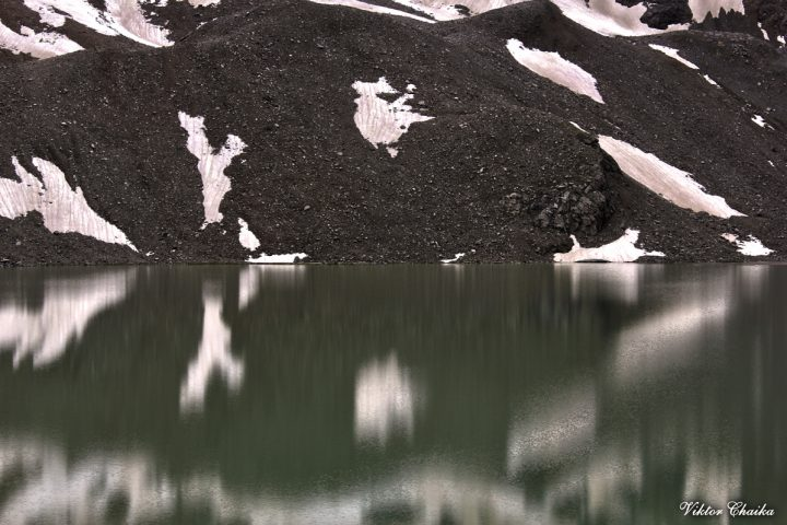 Зеркало озера Сылтранкель